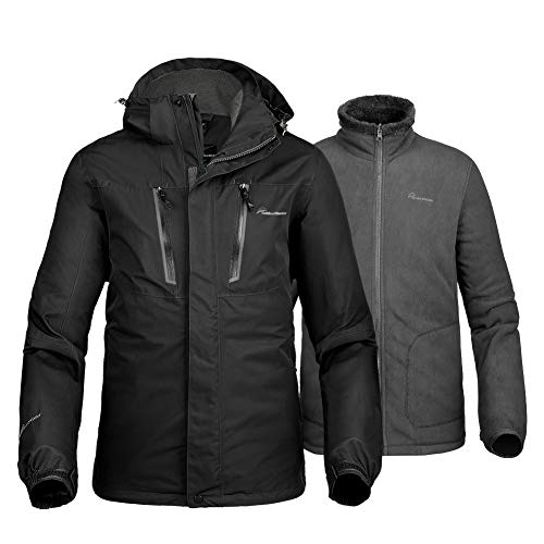 OutdoorMaster Men's 3-in-1 Ski Jacket