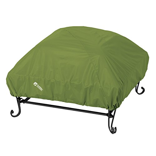 Classic Accessories 55-356-011901-EC Sodo Patio/Outdoor Fire Pit Cover, Square, Herb