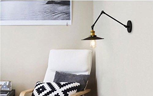 Yu k edison antico stile industriale lampade da parete retrò loft