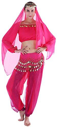 Arabian Dancer Costume Women Adult Genie Costume Outfits
