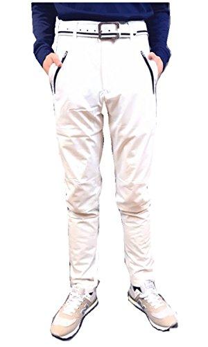 【NewEdition GOLF®】ゴルフパンツ メンズ 防寒 保温? ストレッチ ウォーム ボンディング ゴルフパンツ NEG-011