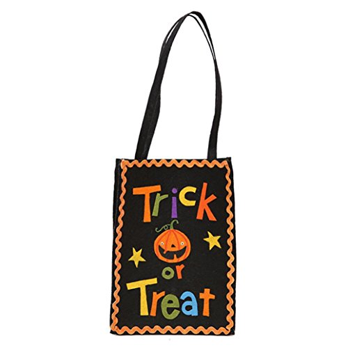 Halloween Children Candy Bag,Halloween Pumpkin Gift Style Candy Bag Gift Bag Bag Kin Bag (B)