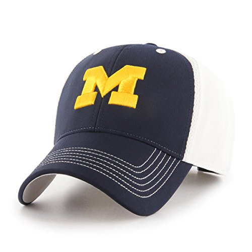 - NCAA Michigan Wolverines Sling OTS All-Star MVP Adjustable Hat, Navy, One Size