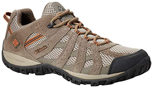 Columbia Men's Redmond Trail Shoe, Pebble/Dark Ginger, 10.5 M US ()