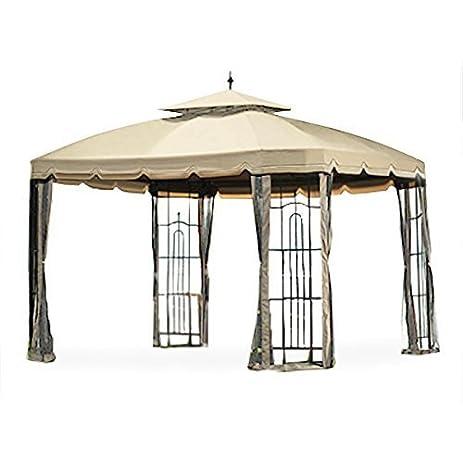 Garden Winds Replacement Canopy For Big Lots Bay Window Gazebo