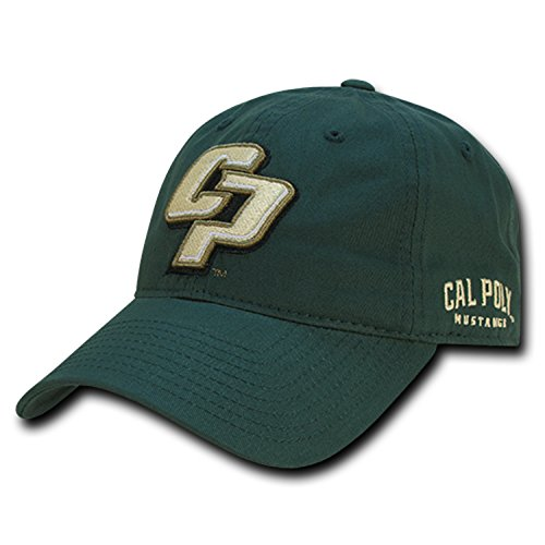 University of Cal State Poly Mustangs Cotton Polo Style Baseball Ball Cap Hat