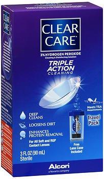 Ciba Clear Care Travel Sz Size 3z Ciba Clear Care Travel Sz 3z