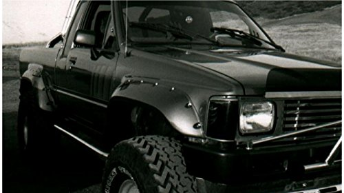 (Bushwacker 31009-11 Cut-Out Fender Flares 84-88 Toyota Pickup Front)