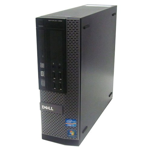 【お1人様1点限り】 DELL Optiplex 990SF Professional core i7 64bit 3.4GHz 7 4GB 320GB Windows 7 Professional 64bit B00C3BOJE2, テクニカルサービス本多:586e7ab6 --- arbimovel.dominiotemporario.com