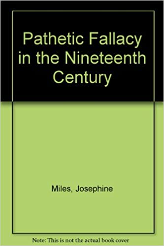 Amazon Pathetic Fallacy In The Nineteenth Centurya Study Of A