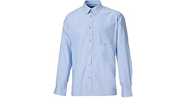 Dickies SH64200-LB-17 Oxford - Camisa de manga larga, talla ...