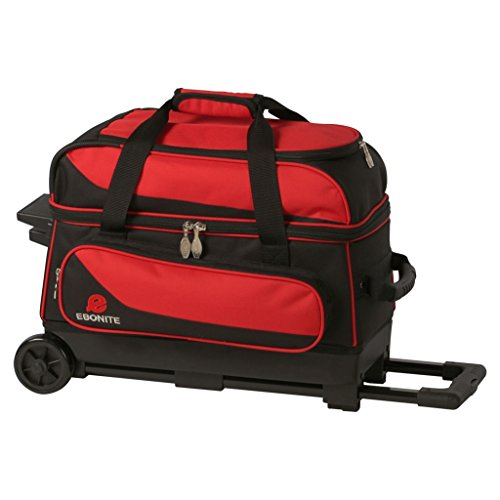 Ebonite Transport 2 Ball Roller Bowling Bag- Many Colors ()