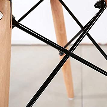 Patchwork-Stoff modern 2 St/ück rot GroBKau Esszimmerstuhl mit Armlehne