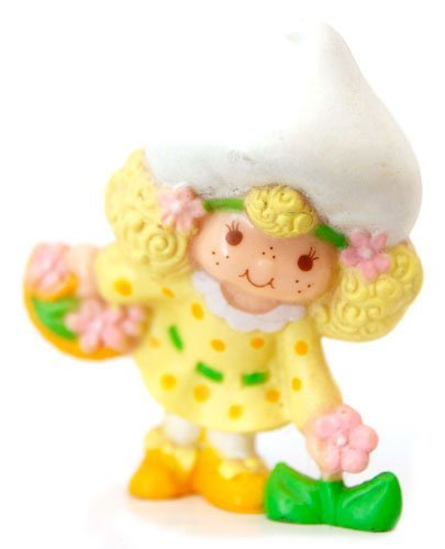 Strawberry Shortcake Mini Lemon Meringue Picking Flower Kenner 1982 ()