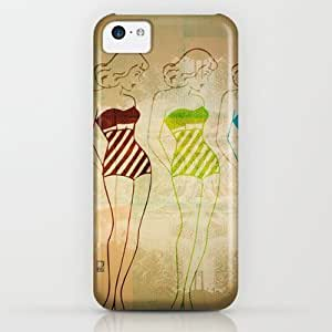 Society6 - Retro Swimsuit iPhone & iPod Case by Ed Pires by supermalls
