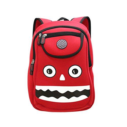 Kids monster Backpack 3D Cute Zoo Cartoon School Bags