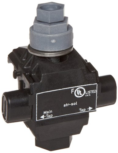 UPC 601986961028, Morris Products 96102 Above Ground Insulation Piercing Connector, 1 Port, 2/0 - 6 Main Range, 8 - 14 Tap Range
