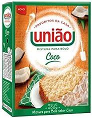 MISTURA PARA BOLO COCO UNIÃO CX 400G