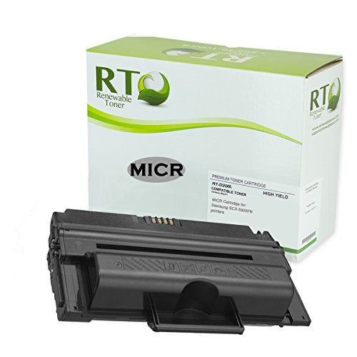 Renewable Toner Compatible MICR Toner Cartridge Replacement for Samsung D206L MLT-D206L SCX-5935FN