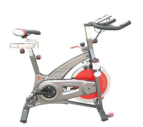 AsVIVA S7 Indoor Cycle Cardio VII Speedbike - Fitnessgerät / Fitnessrad inkl. Getränkehalter und Trinkflasche der Sportrad - Heimtrainer