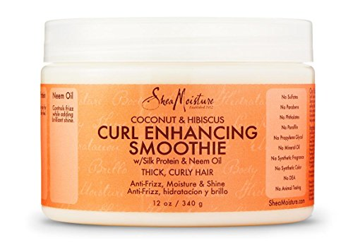SheaMoisture Coconut and Hibiscus Curl Enhancing Smoothie, 12 oz.