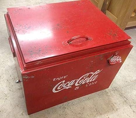 Weird Or Wonderful Raro o Maravilloso Vintage Retro Metal Coca ...