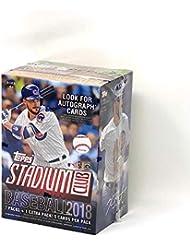 Topps 2018 Stadium Club Retail Blaster Box (8 Packs/5 Cards)