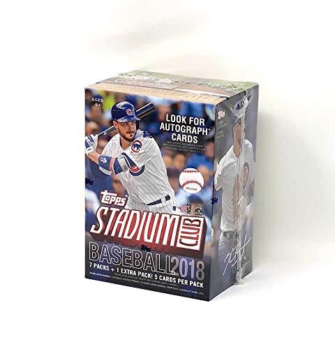 Large Product Image of Topps 2018 Stadium Club Retail Blaster Box (8 Packs/5 Cards)