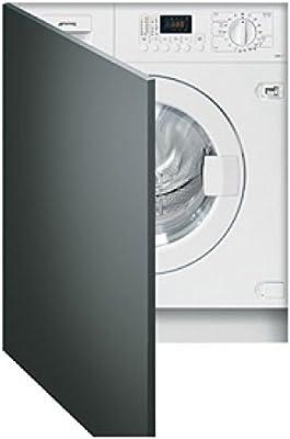Smeg LSTA127 Integrado Carga frontal B Blanco lavadora - Lavadora ...