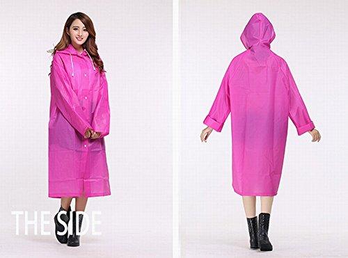 [해외]KaLaiXing 휴대용 비옷 비옷 판초 (후드 및 슬리브 포함)는 캠핑 여행을 위해 옷에서 비가 오는 눈물을 계속하십시오 등산 -/KaLaiXing Portable Raincoat Rain Poncho with Hoods and Sleeves, Keep The Rain   Snow   Water off Your Clothes, for...