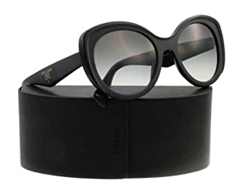 Prada Women 1130039001 Black/Grey Sunglasses 54mm