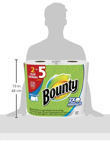 Bounty Select-A-Size Paper Towels, 12 Huge Rolls by Bounty (Image #8)