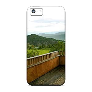 For WTfkk1110YOnPG Wonderful View From A Terrace Protective Case Cover Skin/iphone 5c Case Cover