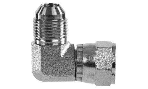 6500-04-04 37/° JIC Male x JIC Female Pipe Swivel 90/° Elbow