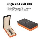 CIGARISM Double-Size Detachable Cigar Punch Cutter