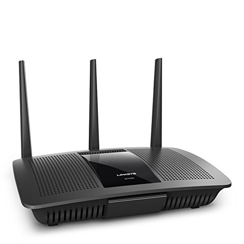 Linksys Max-Stream AC1900 MU-MIMO Dual-Band WiFi Router for Home (Fast Wireless WiFi Router, Gigabit Wireless Router)