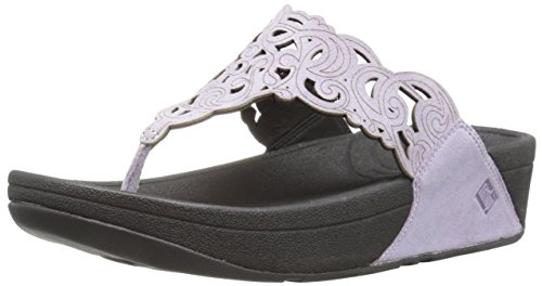 FitFlop Women's Flora Flip Flop, Summer Lilac, 7 M US by FitFlop