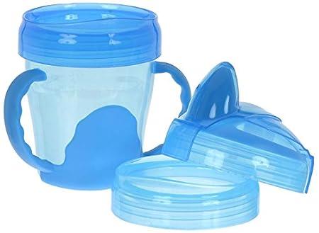 200ml Vital Innovations 492070 Mein erster 3-Stufen Trinklernbecher blau