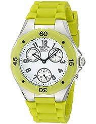 Invicta Womens INVICTA - 18793 Angel Lime Green/White Silicone Watch