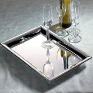 Godinger 11 in. x 16 in. Rectangular Tray (Rectangular Trays)