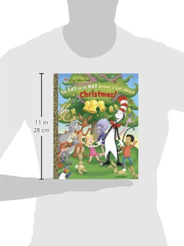 9ab2a55e1c476 The Cat in the Hat Knows a Lot About Christmas! (Dr. Seuss Cat in the Hat)  (Big Golden Book)  Tish Rabe