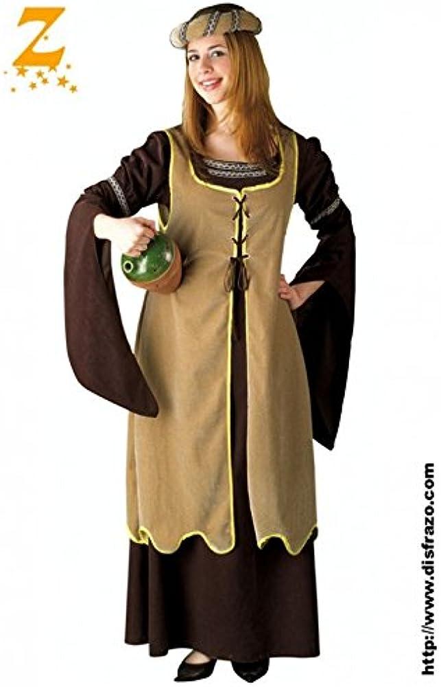 Juguetes Fantasia - Disfraz mujer medieval adulto profi: Amazon.es ...
