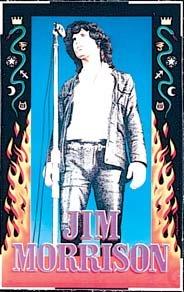 Jim Morrison édition limitée Par sérigraphie Poster musique Garry Grimshaw Original signées et numérotées avec: Jim Morrison, portes