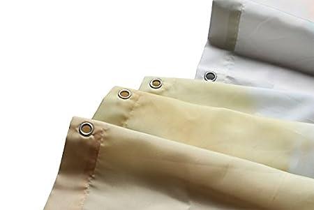 Pierres ovales superpos/és et de sable Imperm/éable rideau de douche 36x72 90cm x 183cm