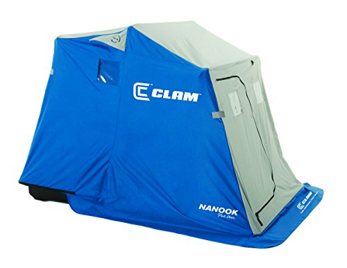 Clam 9714 Nanook 2-Person Ice Fishing Shelter with Padded - Fishing Shelter Ice Clam
