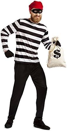 Car&Gus Disfraz de Ladrón para Hombre: Amazon.es: Juguetes y juegos