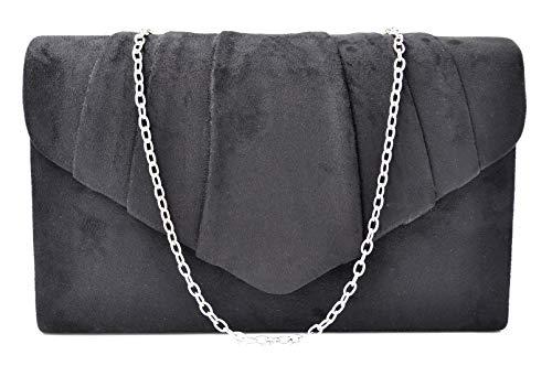 Velvet Evening Handbag - Nodykka Women Evening Velvet Frosted Handbag Party Bridal Clutch Purse