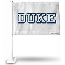 NCAA Duke Blue Devils Block Letter Car Flag
