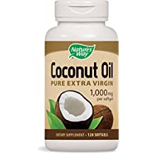 Nature's Way Coconut Oil Soft Gels, 120 Count
