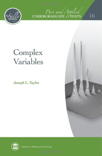 Complex Variables (Pure and Applied Undergraduate Texts) (Best Undergraduate Complex Analysis Textbook)